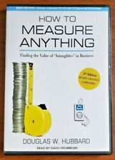 "How to Measure Anything: Finding the Value of ""Intangibles"" in Business, Hubbard"
