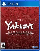 Yakuza Remastered Collection - Sony PlayStation 4  [PS4 Action Sega] NEW