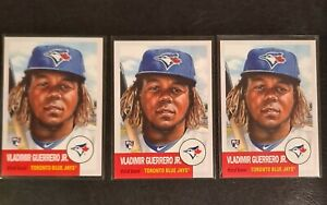 LOT of (3) Topps Living Set Card #179 Vladimir Guerrero Jr. RC- Print Run: 27749