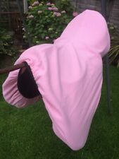 Job Lot of 5 Pink Fleece Protective Saddle Covers - RRP £12.99