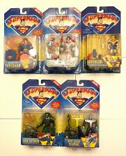 Kenner Superman, Supergirl, Lex Luthor, Evil Alien Brainiac MOC  (Lot of 5)
