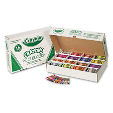 Crayola Classpack Regular Crayons 16 Colors 800/BX 528016