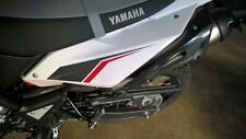 """Yamaha WR125R/X """"Seitenverkleidung hinten li weiß"""" mit Aufkleber, Original"""