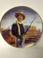 Vintage Franklin Mint John Wayne Hero of the West Plate