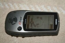 Garmin eTrex Vista Handheld w data cable, bike mountable back cover.