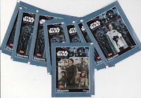 STAR WARS ROGUE ONE LOT DE 40 STICKERS A COLLECTIONNER - AUTOCOLLANTS