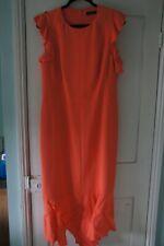 Karen Millen size 16 Peach Dress