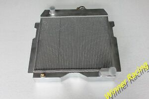 Aluminum Radiator for Jeep Willys Truck 6-226 Wagon 1954-1964 56mm 2 Rows