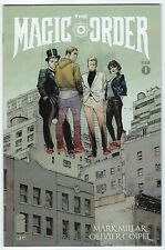 The Magic Order # 1 Cover A Image 1st Print NM Netflix
