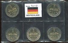 2 euro commemorativo Germania 2009   5 ZECCHE- SAARLAND
