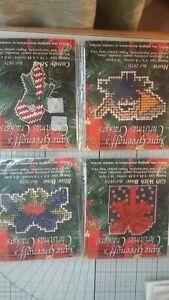 job lot Counted cross stitch kit Jane greenoffs christmas crackers preowned