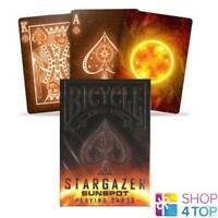 BICYCLE STARGAZER SUNSPOT PLAYING MAGIC TRICKS POKER CARDS DECK STANDARD NEW