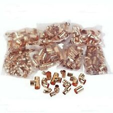1250 X 15MM,22MM,28MM END FEED MIXED FITTINGS JOB LOT PLUMBING DIY COPPER PIPE