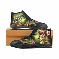Bambi & Thumper Men's Classic High Top Canvas Shoes Disney