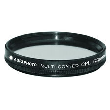 AGFA Digital Multi-Coated Glass Circular Polarizing Filter 58mm