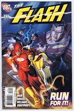 Flash #233 Very Fine Signed w/COA Freddie E. Williams II 2007 DC Comics