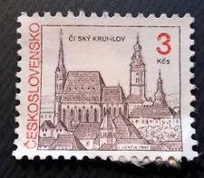 Czechoslovakia stamps -Český Krumlov Castle - 3 koruna 1992