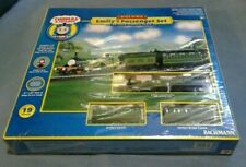Thomas & Friends Emily's Passenger Set Deluxe HO Scale Electric Train 19pc, New!