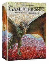 Game of Thrones: The Complete Season 1-6 (DVD, 2016 30-Disc Box Set) 1 2 3 4 5 6