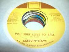 Soul 45 MARVIN GAYE You Sure Love To Ball / Just To Keep You Satisfied on Tamla