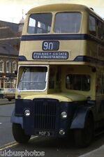 WMPTE MOF3 Birmingham 1974 Bus Photo