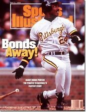 May 4, 1992 Barry Bonds Pittsburgh Pirates Sports Illustrated