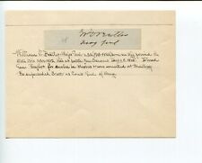 General William O Butler Mexican War of 1812 Kentucky Congress Signed Autograph