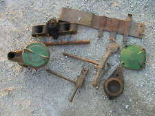 (8) John Deere A Tractor Original JD parts & pieces battery tray foot pedal lift