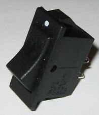 Miniature Rocker Switch - SPST - 125V AC 15A - 1/2 HP - Swann Industries 39