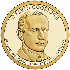 2014-P CALVIN COOLIDGE  PRESIDENTIAL DOLLAR COIN