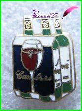 Pin's Alccol Vin Rouge CAMBRAS Un Pack de 4 bouteille #F4
