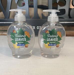 softsoap liquid hand soap 7.5fl oz (221ml) 2021 Fall Falling Leaves