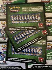 50x Unified Minds Pokemon TCG Online Codes