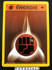 Carte Pokemon ENERGIE COMBAT 97/102 Set de Base Wizard EDITION 1 FR NEUF