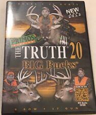 New Primos The Truth 20 Big Bucks Hunting DVD 43201