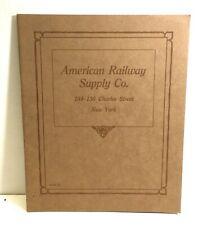 American Railway Supply Co. Catalog