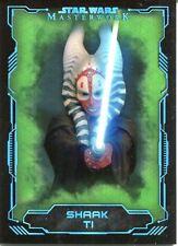 Star Wars Masterwork 2016 Green Base Card #35 Shaak Ti