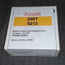 35mm - Kodak Vison3 200T/5213 motion picture color negative film, 100ft bulk