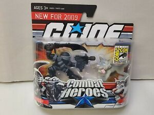2009 GI Joe SDCC Convention Exclusive Combat Heroes Snake Eyes and Timber