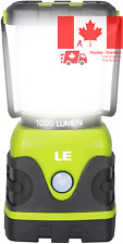 LE Outdoor LED Camping Lantern 1000lm Dimmable Battery Powered Water Resistan...