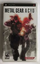 PSP Metal Gear Acid (2005), NTSC US, Brand New & Factory Sealed