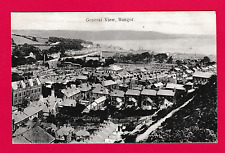 Postcard dated 1905. General view, (from the mountain) Bangor, Gwynedd