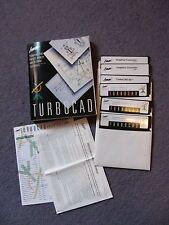 "vintage computer software Turbocad v 3.0  5"" floppy disc mint condition"