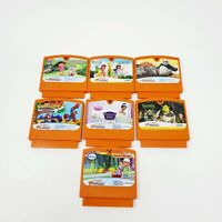 Lot of 7 VTech V Smile/Motion Game Cartridges Shrek spiderman Princess Dora