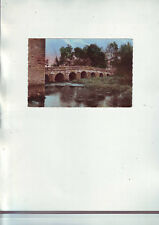carte postale dos vierge - montigny sur aube  - cote d'or / pont de l'abattoir