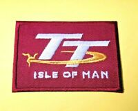 ISLE OF MAN T.T. PATCH:- SEW /IRON ON: MANX