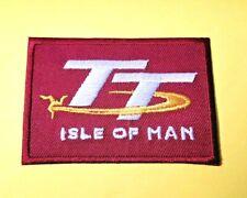 ISLE OF MAN T.T. PATCH:- SEW /IRON ON: MANX