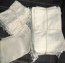"""Cotton Pouch Bags With Drawstring, 4"""" x 6"""", 100 Pack"""