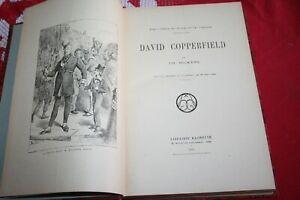 DAVID COPPERFIELD CHARLES DICKENS EDITIONS HACHETTE 1933 ILLUSTRE