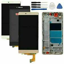 LCD Display Touch Screen Digitizer with Frame For Huawei P8 Lite ALE-L21 Parts